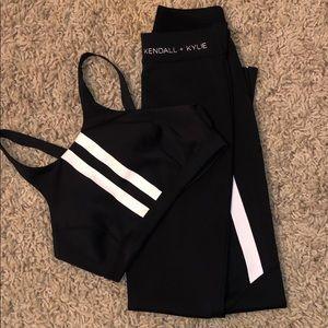 Kendall + Kylie workout set